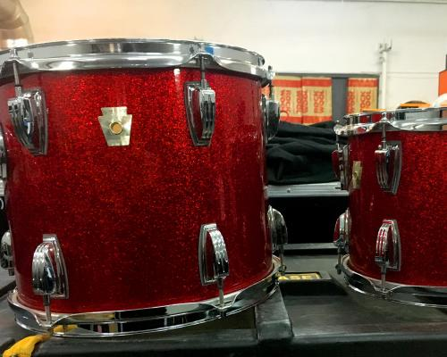 Ludwig Classic Maple Red Sparkle (Copy)-1