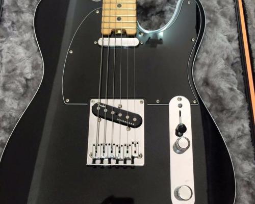 Fender Telecaster USA Black (1)