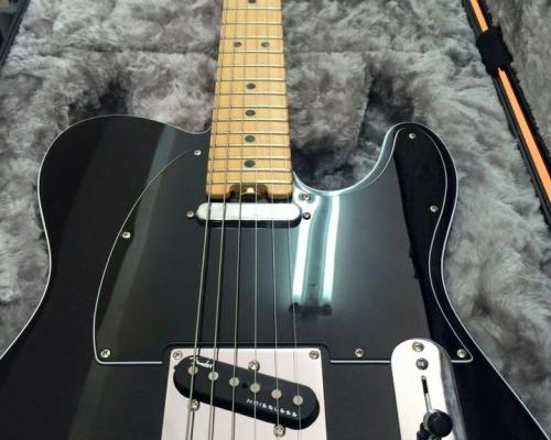 Fender Telecaster USA Black (2)